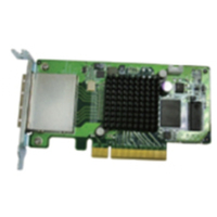 QNAP SAS-6G2E-U Schnittstellenkarte/Adapter (Grün)