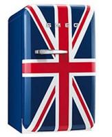 Smeg FAB5RUJ Kühlschrank (Blau, Rot, Weiß)