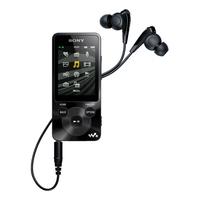 Sony Walkman NWZ-E584 (Schwarz)