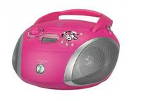 Grundig RCD 1445 USB (Pink, Silber)