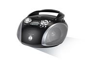 Grundig RCD 1445 USB (Schwarz, Silber)