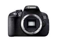 Canon EOS 700D + EF-S 18-55mm STM + EF-S 55-250mm STM (Schwarz)