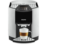 Krups EA 9010 Kaffeemaschine (Schwarz, Weiß)