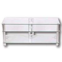 Schnepel AS 121 S TV-table clear glass (Silber)