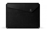 "Mujjo 13"" Macbook Air & Pro Retina Sleeve (Schwarz)"