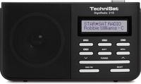 TechniSat DigitRadio 210 (Schwarz, Silber)