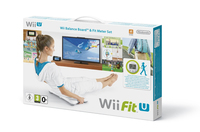 Nintendo Wii Fit U + Fit Meter + Wii Balance Board (Grün, Weiß)
