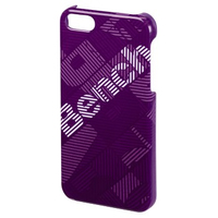 Bench Geometric Design iPhone 5/5S (Violett)