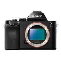 Sony α ILCE-7R (Schwarz)