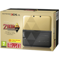 Nintendo 3DS XL Zelda: A Link Between Worlds Limited Edition (Schwarz, Gold)