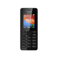 Nokia 108 Dual SIM (Schwarz)