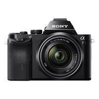 Sony α ILCE-7K (Schwarz)