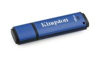 Kingston Technology DataTraveler Vault Privacy 3.0 16GB 16GB USB 3.0 Blau USB-Stick (Blau)