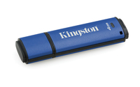 Kingston Technology DataTraveler Vault Privacy 3.0 4GB 4GB USB 3.0 Blau USB-Stick (Blau)