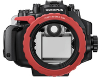 Olympus PT-EP11 (Schwarz, Rot)
