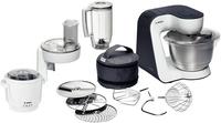 Bosch MUM52133 Küchenmaschine (Schwarz, Edelstahl, Weiß)