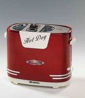 Ariete 186 Hot Dog-Dämpfer Rot, Weiß (Rot, Weiß)
