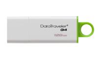 Kingston Technology DataTraveler G4 128GB 128GB USB 3.0 Grün, Weiß USB-Stick (Grün, Weiß)