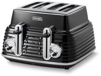 DeLonghi CTZ 4003.BK Toaster (Schwarz)