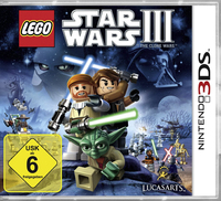 Activision Lego Star Wars 3 - The Clone Wars, 3DS