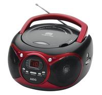 AEG SR 4351 CD (Schwarz, Rot)