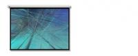 Optoma DE-3120EGA Projektoren Leinwand (Weiß)
