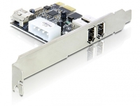 DeLOCK 3-port FireWire PCI Express Card