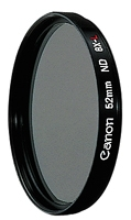 Canon ND8-L 52MM Filter (Schwarz)