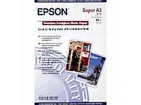 Epson Premium Semigloss Photo Paper, DIN A3+, 250 g/m², 20 Blatt