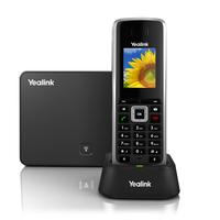 Yealink W52P LCD Wireless handset Schwarz (Schwarz)