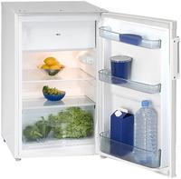 Exquisit KS125UA++ Kombi-Kühlschrank (Weiß)