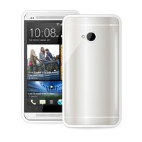 PURO Htc One Clear Cover (Weiß)