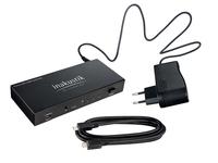 Inakustik 00424505 Video-Switch (Schwarz)