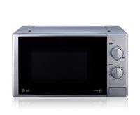LG MS2022DU Solo-Mikrowelle Arbeitsfläche 20l 700W Silber Mikrowelle (Silber)