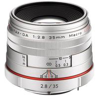 Pentax HD-DA 35mm F2.8 Macro Limited (Silber)