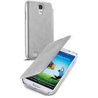 Cellular Line BOOKGLITTGALAXYS4S Handy-Schutzhülle (Silber)