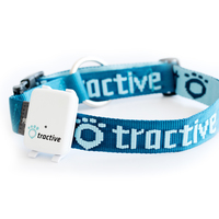 Tractive Dog Collar Large (Blau)