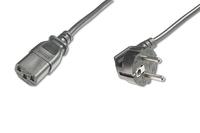 ASSMANN Electronic AK-440109-025-S Stromkabel (Schwarz)