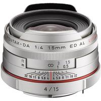 Pentax HD DA 15mm F4 ED AL Limited (Silber)