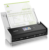 Brother ADS-1600W Scanner (Schwarz, Weiß)