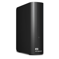 Western Digital WD Elements, 2TB (Schwarz)