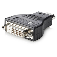 HP HDMI to DVI Adapter (Schwarz)