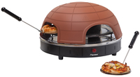 Bestron APG410 Elektronische Pizzapfanne (Terracotta)