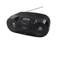Sony Drahtlose CD-Radios mit DAB/DAB+/UKW-Radio und USB (Schwarz)