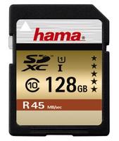 Hama 128Gb SDXC (Schwarz)