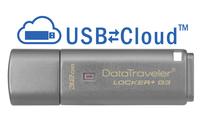 Kingston Technology DataTraveler Locker+ G3 32GB 32GB USB 3.0 Silber USB-Stick (Silber)