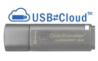 Kingston Technology DataTraveler Locker+ G3 64GB 64GB USB 3.0 Silber USB-Stick (Silber)