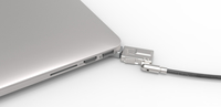 Compulocks MBPR15 BR Wedge Schlüssel Silber Kabelschloss (Silber)