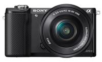Sony α ILCE-5000L (Schwarz)