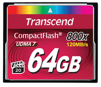 Transcend 64GB 800x CF